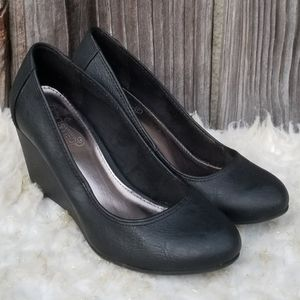 6 Wedges Unlisted Black Kenneth Cole Reaction